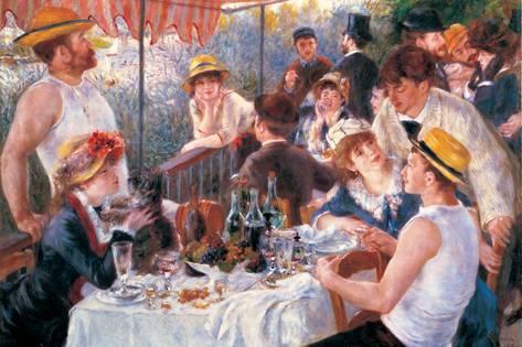 repas canotiers renoir histoire peinture